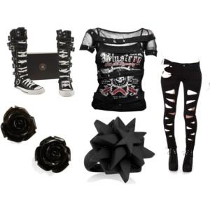 rocker clothes